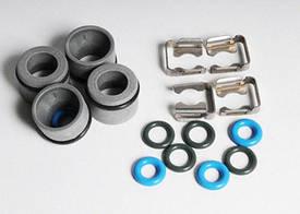 Кольца уплотнительные (комплект 8 шт с фиксаторами и уплотнительными (изоляционными) заглушками (колпачками)