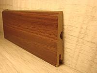Плинтус МДФ напольный ламинированный под дерево Pedross Орех американский 6190-Р070029, 14х70х2400мм