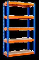 Полочный стеллаж 2160х1200х500, 5 полок ДСП