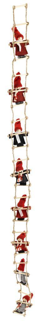 Новогодний декор гирлянда 115 см 10 Эльфов