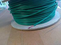 Провод монтажный ПВ3 0,5кв.мм. (CCA),длина 100м,цвет зелёный