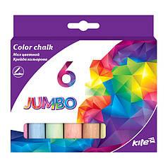 "Набор ""Мел цветной"" ""Kite"" 6 цветов Jumbo K17-073"