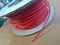 Провод монтажный ПВ3 0,5кв.мм. (CCA),длина 100м,цвет красный