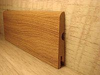 Плинтус МДФ напольный ламинированный под дерево Pedross Дуб светло-коричневый 6190-Р050286, 14х70х2400мм