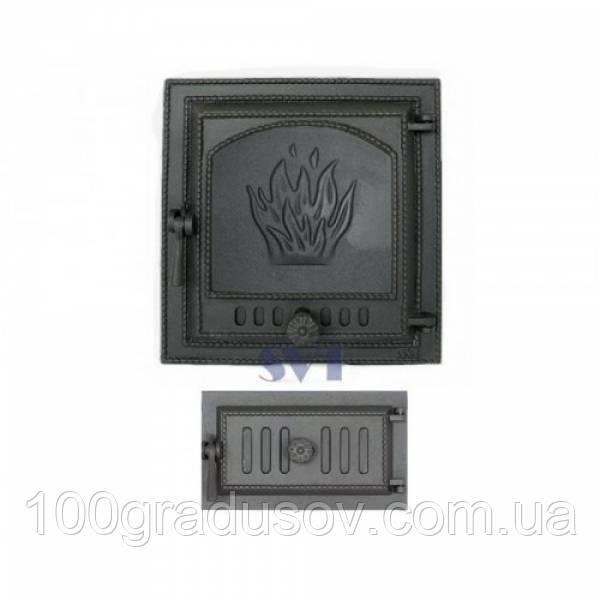 Комплект дверец для печи герметичный SVT 411-433