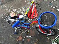 Детский велосипед Azimut Тачки 16