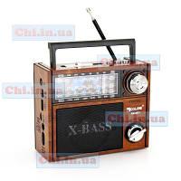 Радиоприемник GOLON RX-201 usb, sd card, FM/AM/SW, фонарик