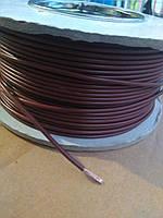 Провод монтажный ПВ3 0,35кв.мм. (CCA),длина 100м,цвет коричневый