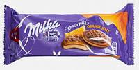 Печенье с апельсиновым желе в шоколаде, Milka Choco Jaffa, 147 г.