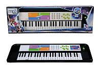 Електросинтезатор 69х19 см, 49 клавиш, 6+