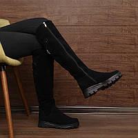 Женские высокие сапоги на толстой подошве Мод (7153.1) раз: 36, 37, 38