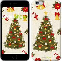"Чехол на iPhone 6 Plus Новогодняя елка ""4198c-48-8079"""