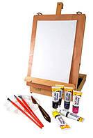 """Этюдник + Набор акриловых красок""""Graduate Acrylic Box"""" 6 * 38мл , DR"""