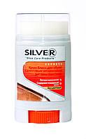 Крем-Блеск для обуви Silver (цвет бесцветный) карандаш 50 ml