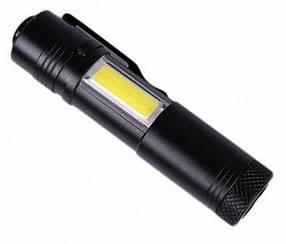 Ліхтар кишеньковий AK38 світлодіодний з бічною панеллю COB