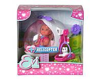 Кукольный набор Evi Спасательный вертолет с собачкой, фото 1