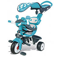 Детский металлический велосипед Комфорт, голубой, 10 мес. +