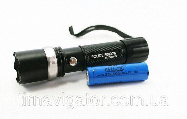 Фонарик ручной POLICE BL-T8626 (3000W)