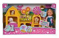 Кукольный набор Эви Счастливая ферма с аксес., 3+, фото 1