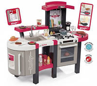 311304 Інтерактивна кухня Тефаль. Супер Шеф велика з ефектом кипіння, звук.ефектом, аксес., червона, 3+