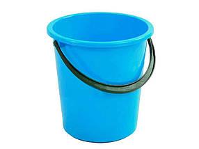 Ведро пластиковое пищевое Мед 5 л голубое