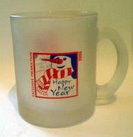 Чашка матовая с печатью