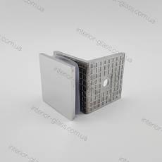Соединитель для стекла HDL-722 литой, нержавеющая сталь