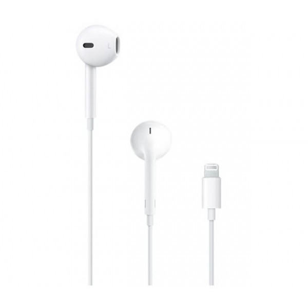 Наушники/гарнитура Apple EarPods with Lightening Connector (MMTN2ZM/A)