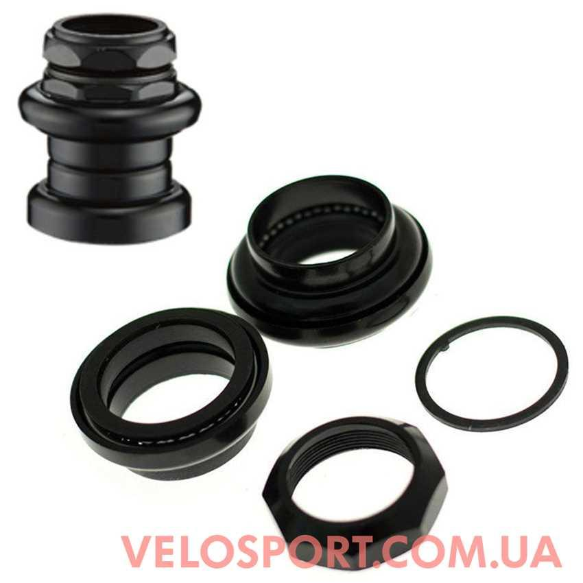 Рулевая NECO H-841 резьбовая черная/металик