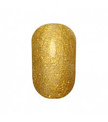 Гель лак Tertio 177 Яркие золотые блестки  10 мл