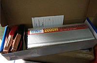 Инвертор, преобразователь, инвертор напряжения 12/220V — 2000W