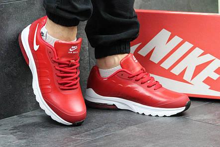Мужские кроссовки Nike air max, красные, фото 2