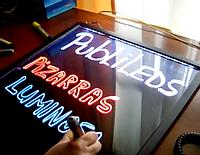 Флеш-панель с LED подсветкой для различной рекламы, размеры 40 х 60 см
