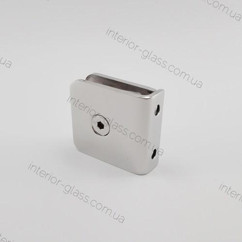 Соединитель стена-стекло HDL-721G штампованный