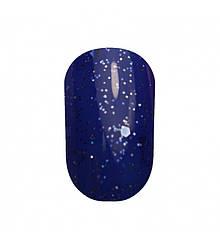 Гель лак Tertio 187 Морозный синий с шиммером разного размера 10 мл