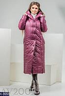 Женское пальто плащевка (зима)