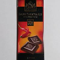 Чёрный Шоколад J.D.Gross 56% с перцем 125г.