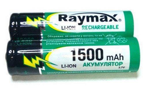 Аккумулятор Li-ion 18650 Raymax 1500 mah, фото 2
