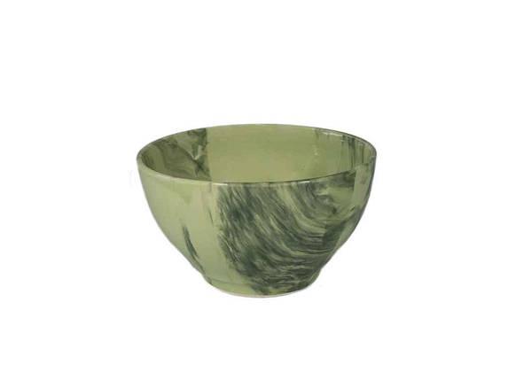 """Салатник Веселка зелена 300 мл упаковка-6 шт. """"Полигенько"""", фото 2"""