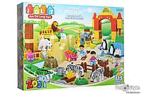 Конструктор JDLT 5096 Зоопарк 115 деталей (Lego Duplo)