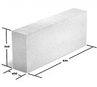 "Газоблок ""МКСИ""  625(600)*100*200(250) мм D600"