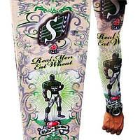 РАСПРОДАЖА! Рукава татуировки принт sport & dollars, 2 шт