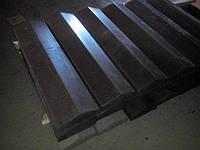 Парапет бетонный на забор 130х480х60 мм