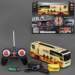 Автобус на радиоуправлении.Детская игрушка автобус на управлении.Игрушечный детский автобус.Детская машинка.
