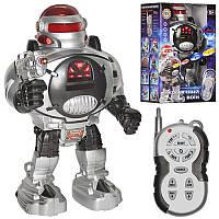 Робот Космический воин на радиоуправлении, ходит, поворачивается, скользит, танцует, стреляет мягкими дисками