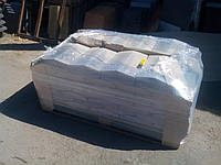 Парапет бетонный на забор 250х370х50 мм
