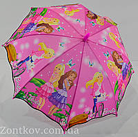 """Детский зонт-трость с красочными рисунками на 5 - 9 лет от фирмы """"Paolo""""."""