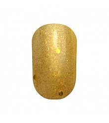 Гель лак Tertio 190 Золотые блёстки разного размера 10 мл