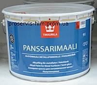 Panssarimaali Tikkurila, краска для крыш Панссаримаали База С  2,7л