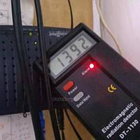 Дозиметр цифровой DT1130 цифровой ЖК-дисплей детектор электромагнитного излучения